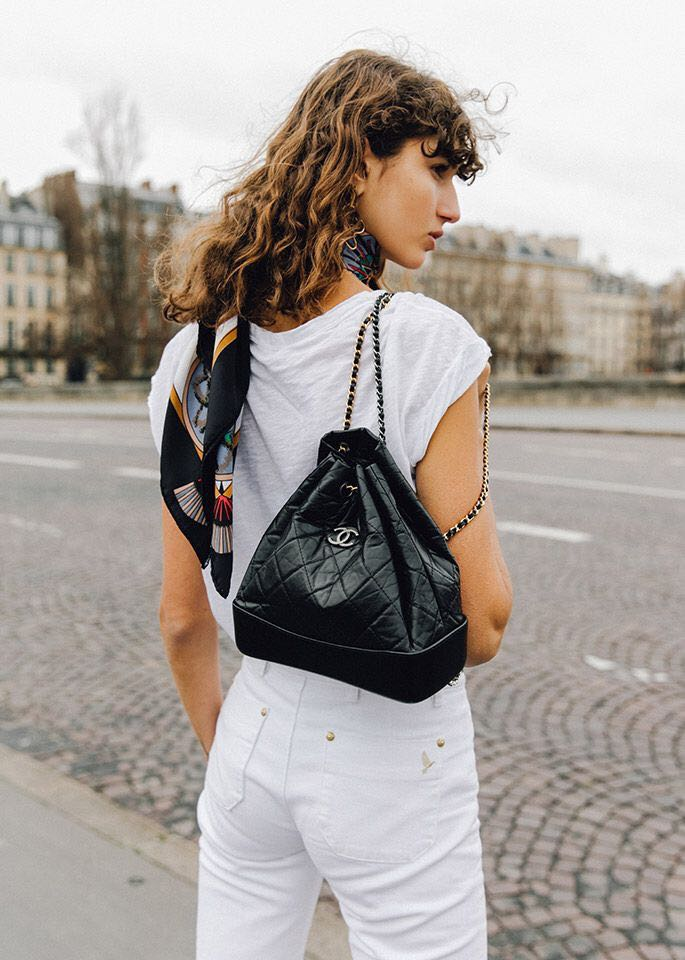79b9c9d34d2a Chanel Gabrielle Backpack Small Black, Luxury, Bags & Wallets ...
