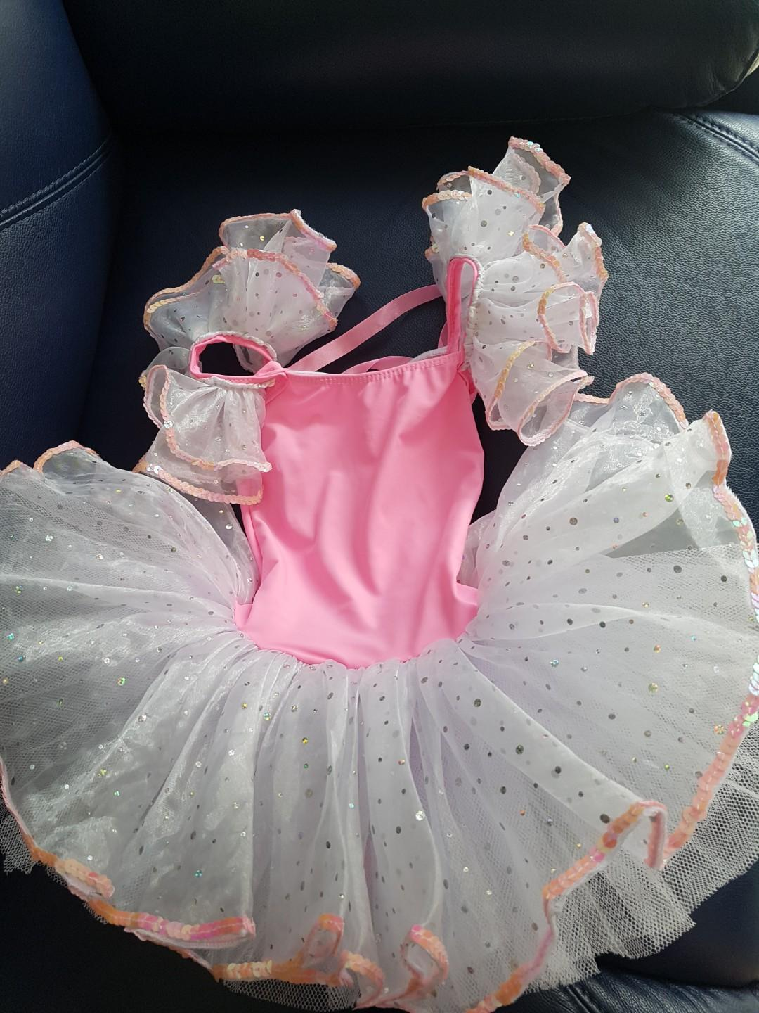 Christmas Year End Party Dress For Girl Age 3 To 4 Years Old