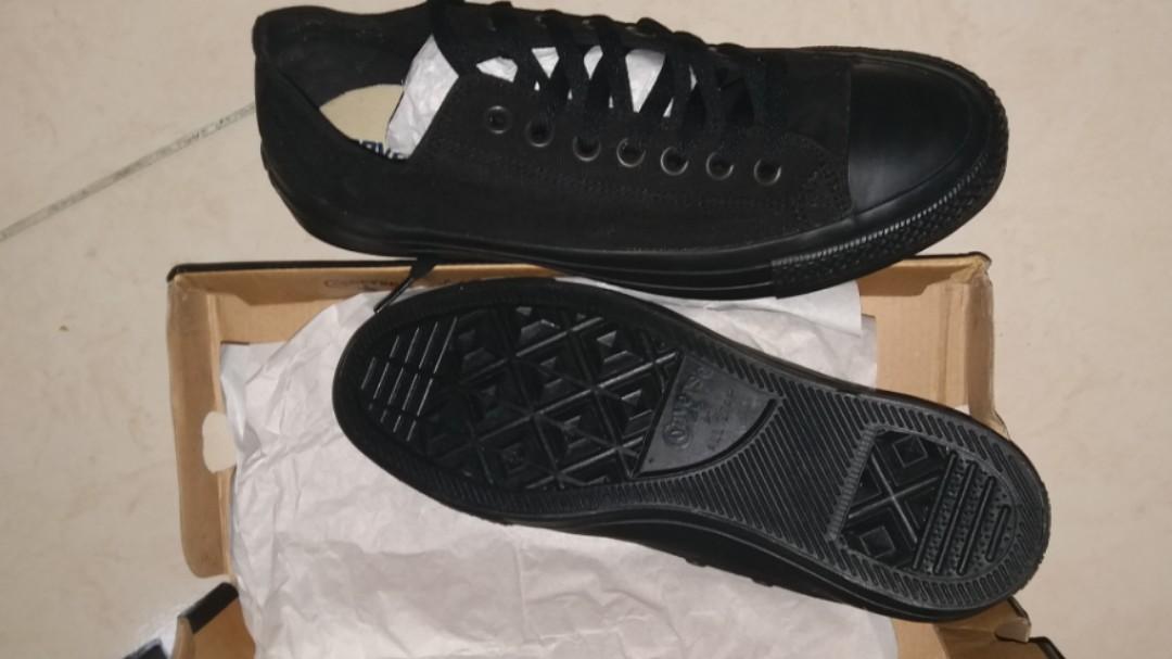 b4d548ec74d3d2 Converse shoes ORIGINAL UNISEX Chuck Taylor black mono sneakers ...
