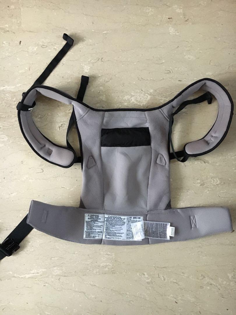 Ergo baby (performance ventus graphite) cool mesh. Three way carrier