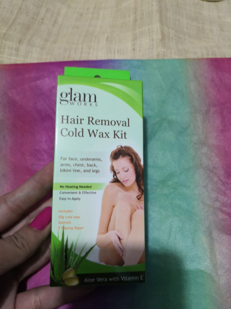 Free Glam Hair Removal Cold Wax Kit Health Beauty Skin Bath