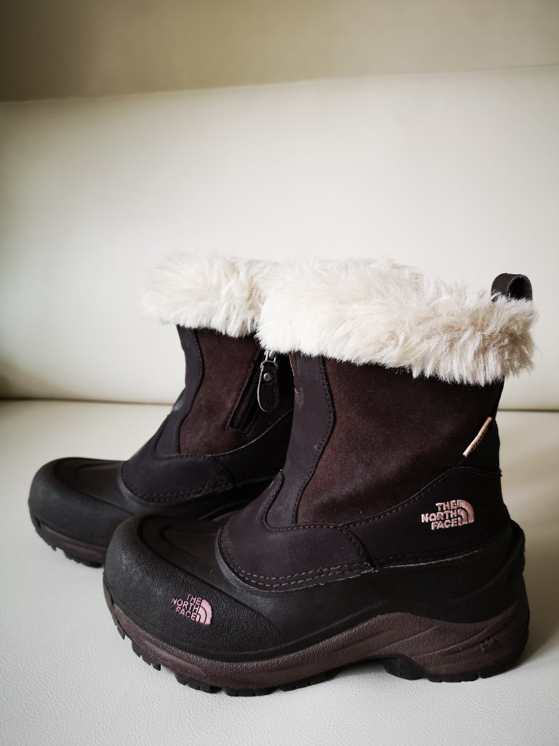 store big selection of 2019 factory Good quality Northface winter boots for girls