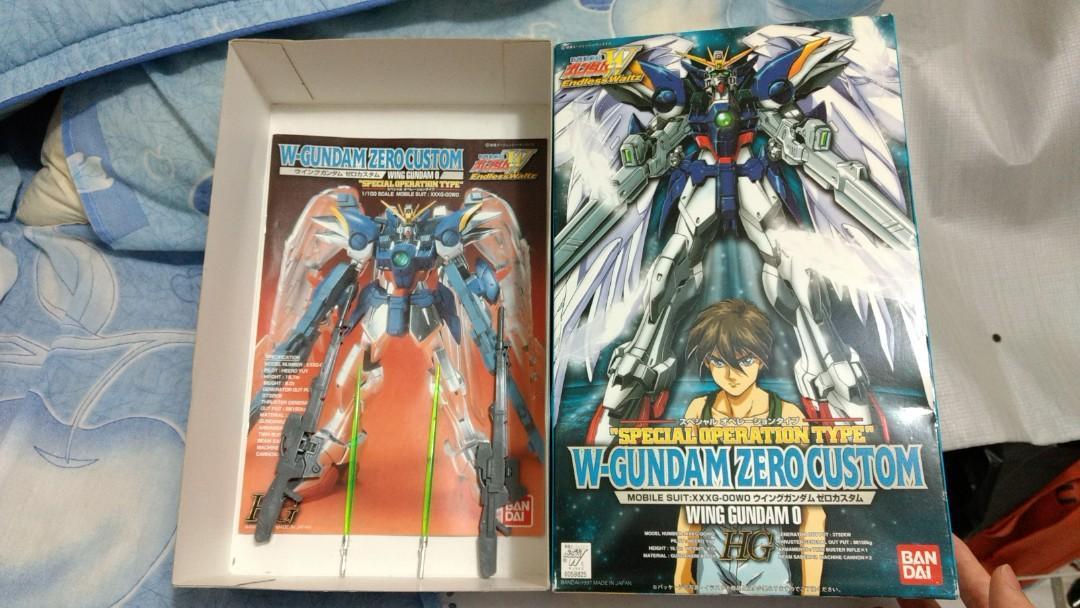 HG 1:100 Wing Gundam Zero Special Operation Type  零式飛翼高達 電鍍版
