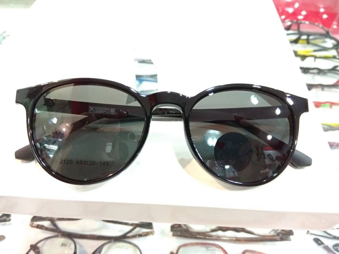 21853a0501 High quality Ultem frame with PC polarized Uv400 mirror shade magnetic clip  on