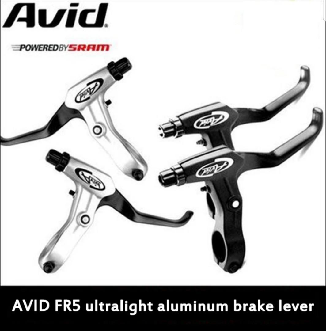 1Pair Black Avid FR 5 Brake Levers V Brake Disc Bike Mountain Bicycle New
