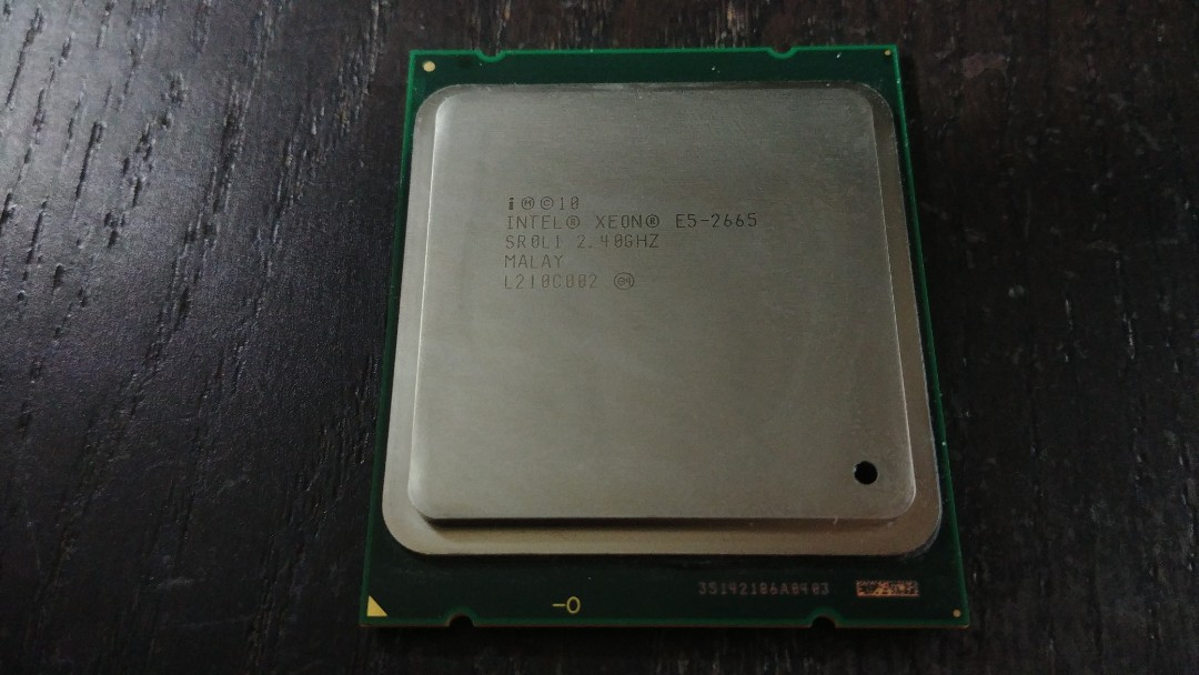 Intel Xeon E5-2665 sandy bridge