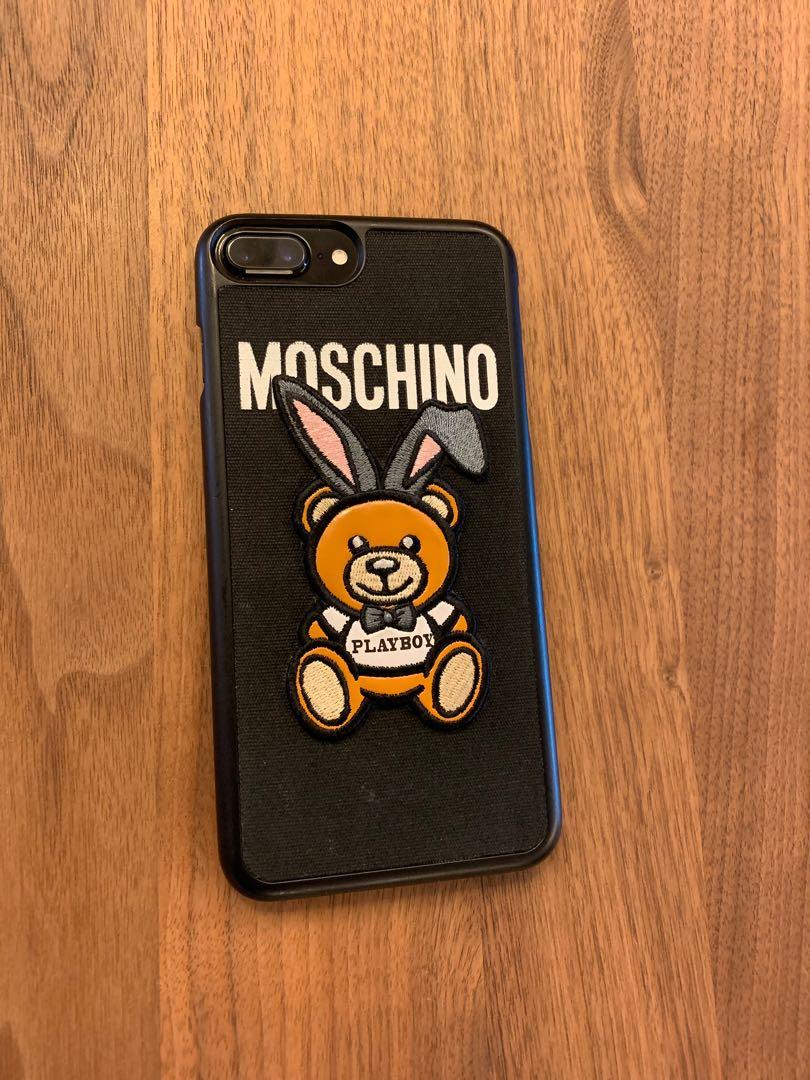 wholesale dealer fa1de b8afe iPhone 7 Plus, 256GB, Jet Black - Moschino Case