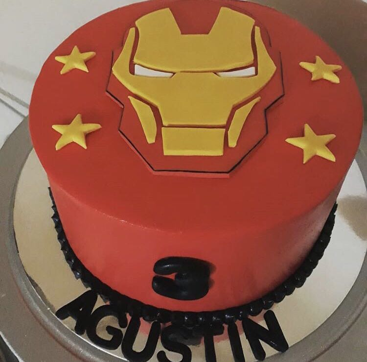 Ironman Cake 7 Food Drinks Baked Goods On Carousell