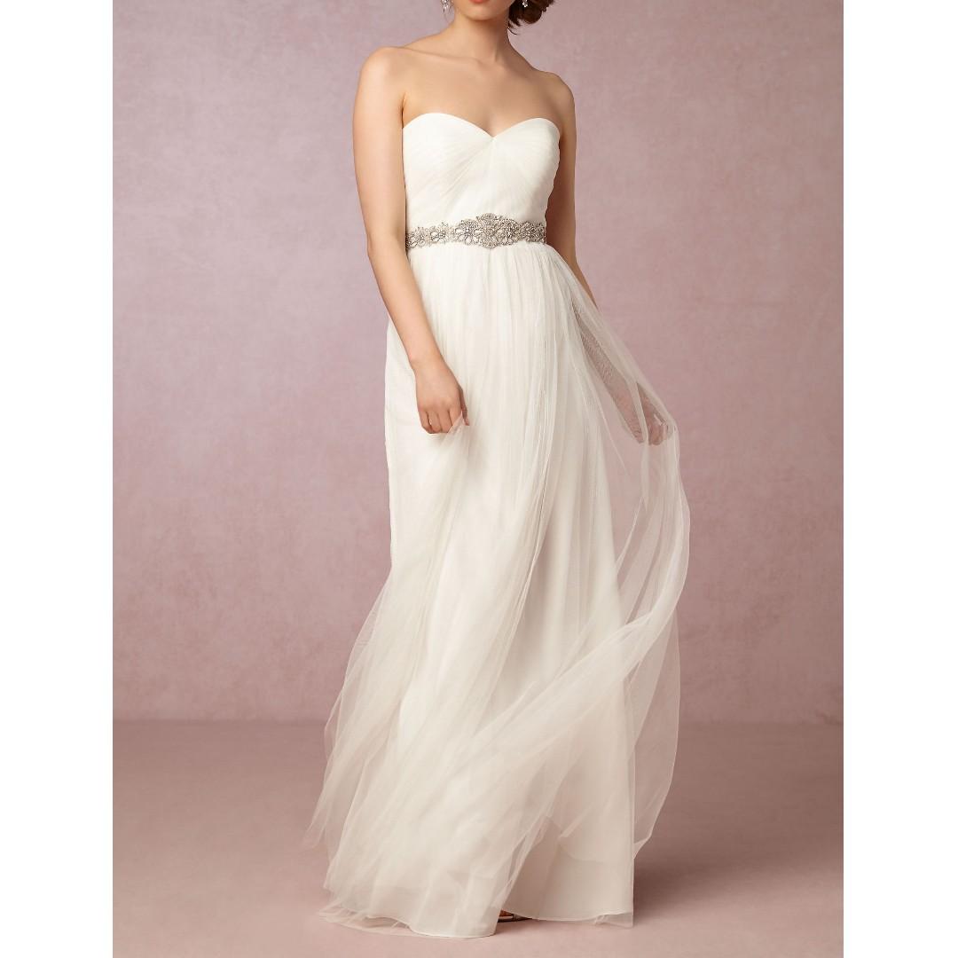 396f6f2b924 JENNY YOO Annabelle Convertible Column Tulle Dress
