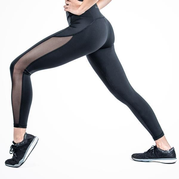 50dea3ccdf215 KYDRA Alexa Mesh Leggings (BNWT), Sports, Sports Apparel on Carousell