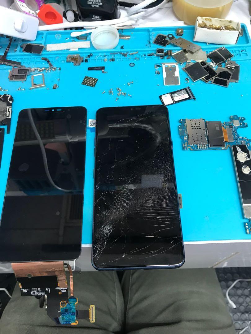 LG G7爆mon更換 專業手機維修 多年經驗 信心保證