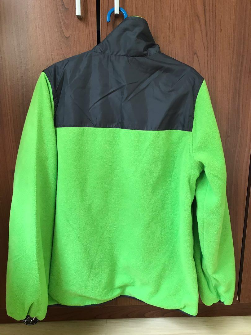 LONDON FOG Boys Reversible Fleece to Poly Jacket