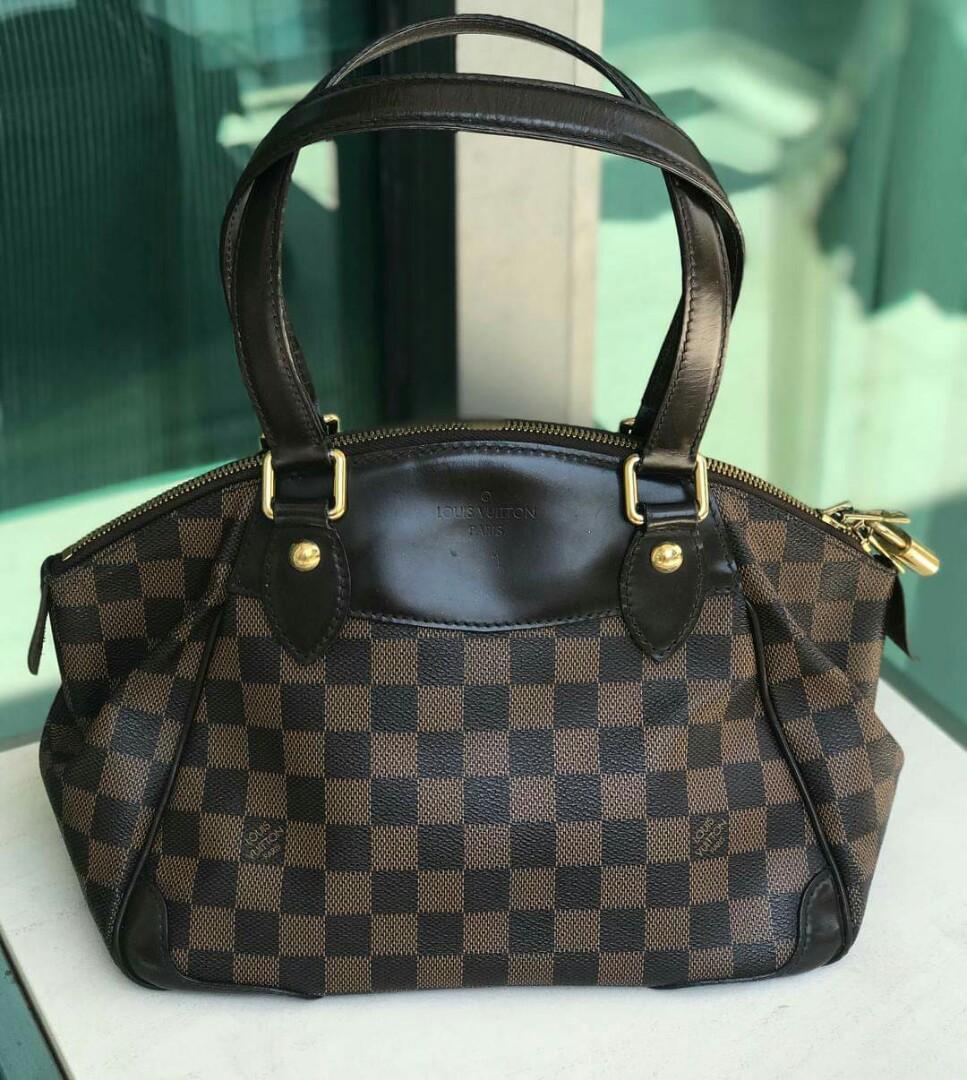 21d62be4b043 Louis Vuitton Verona PM Damier Ebene on hand ♥ Excellent ...