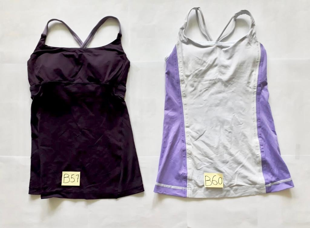 24263e556ed61 Lululemon tank top with shelf bra  sports   tank top   sleeveless ...