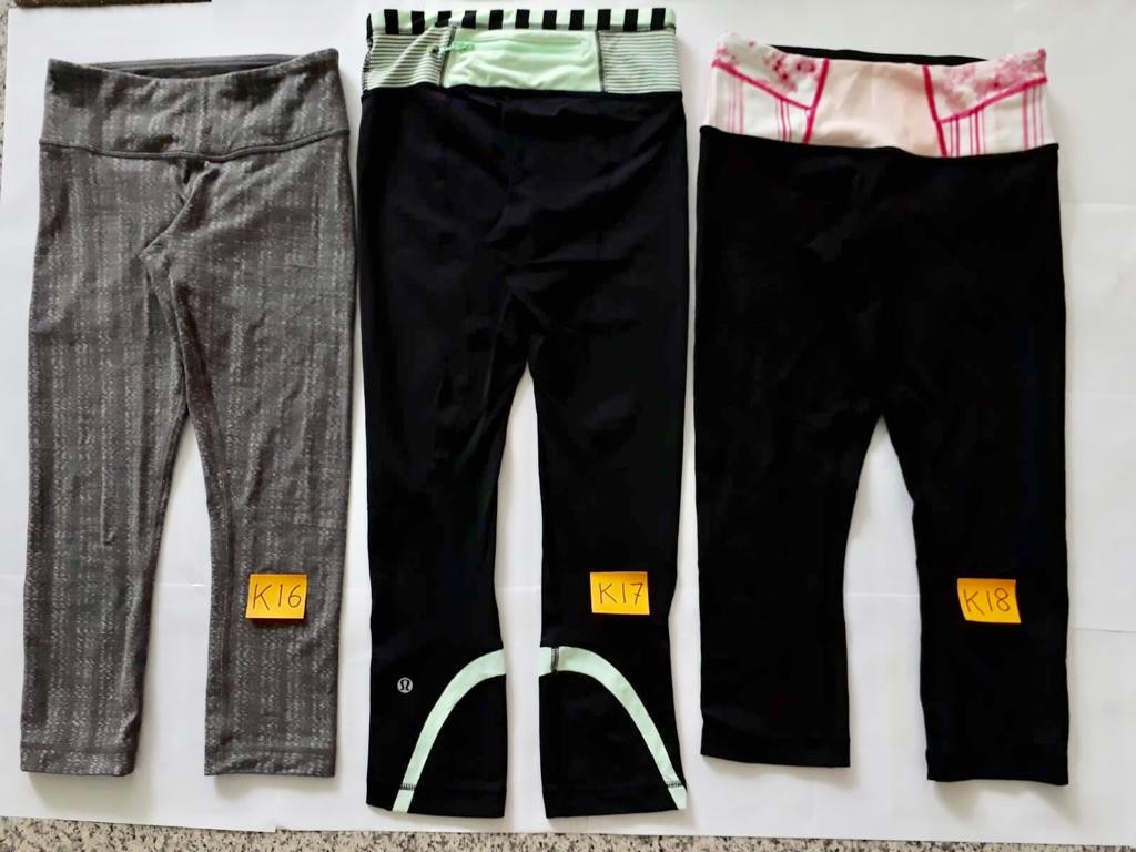 Lululemon wunder undercrops (ALMOST NEW) sports / tights / pants