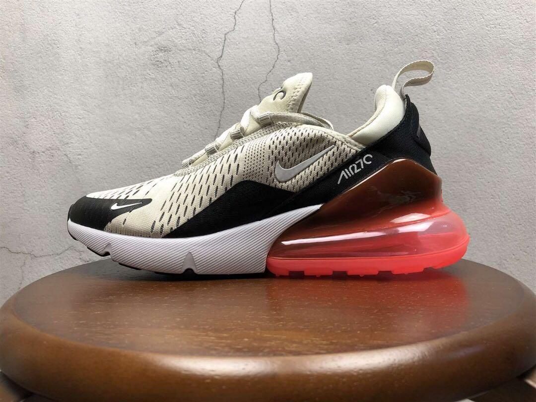 caf5057e4d Nike Air Max 270 'Light Bone / Hot Punch / Black / White', Men's ...