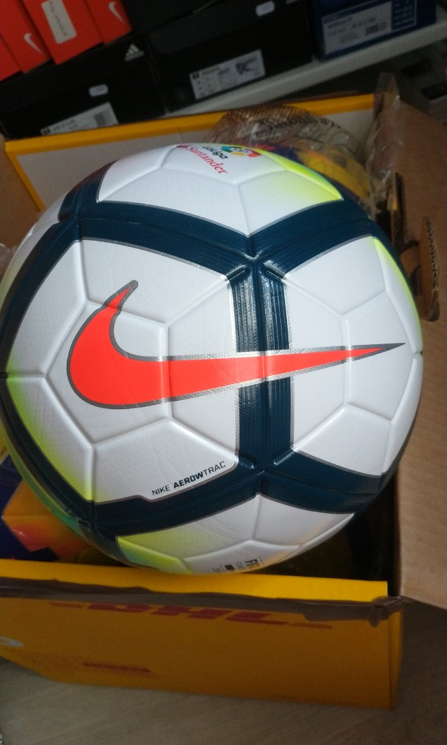 in stock  Nike Ordem V 5 football spanish league la liga match ball ... 616eb631f
