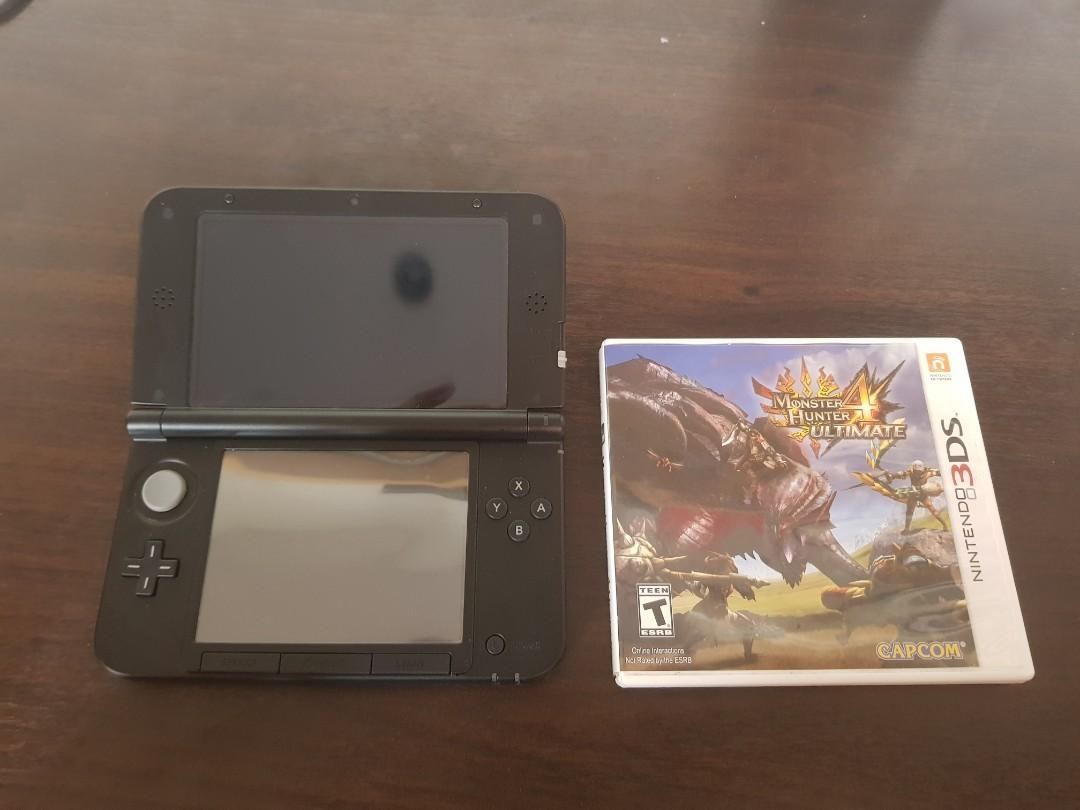 Nintendo 3DS XL SUPER SMASH BRO ED