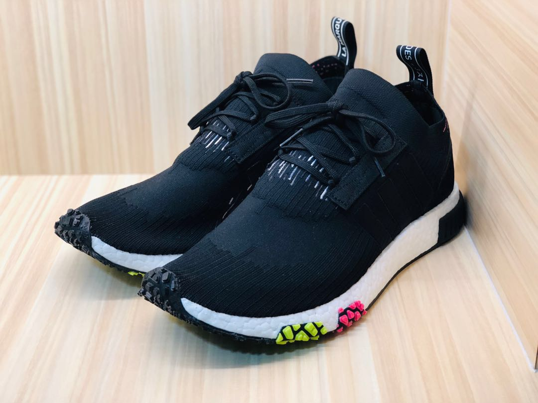 nmd racers pk core black