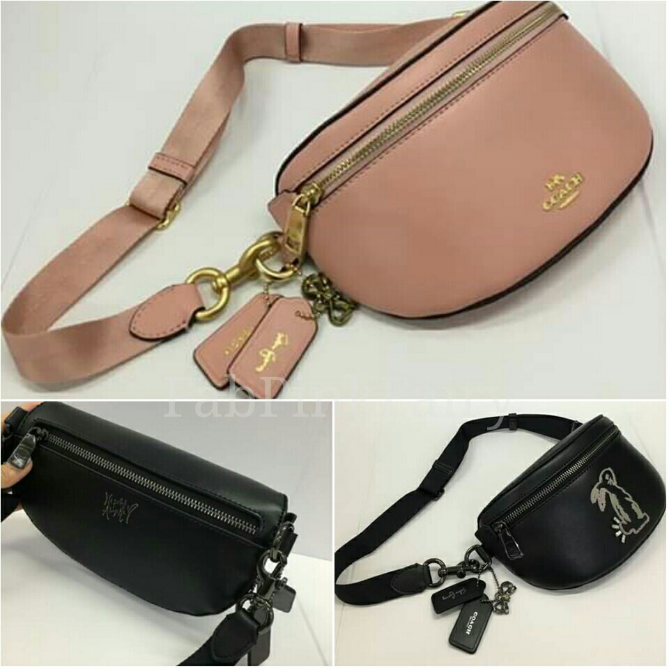 8fd1ea5919bf ON HAND LIMITED STOCKS Auth Quality Coach Belt Bag Coach X Selena ...