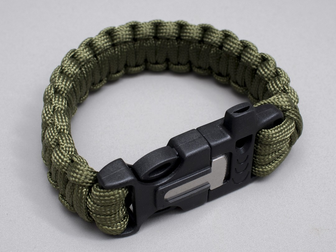 Image result for paracord fire starter bracelet