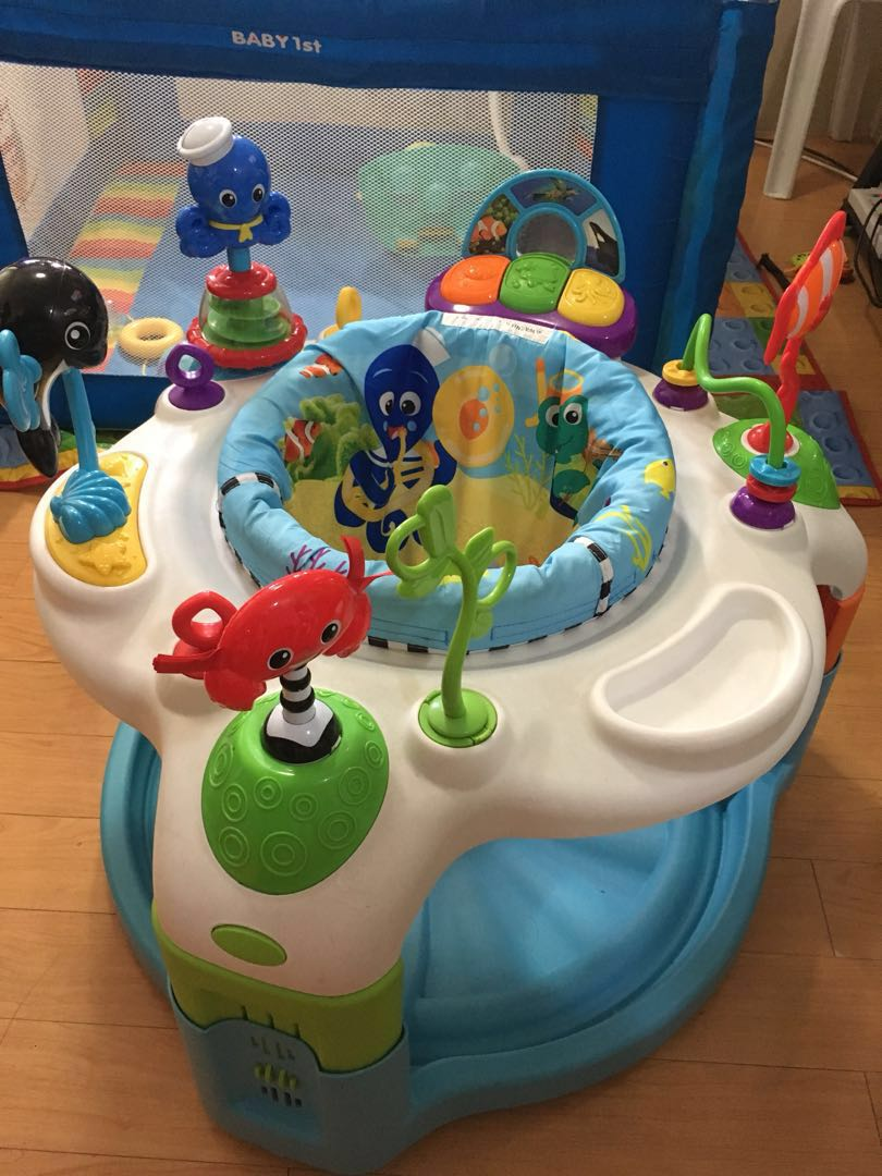 e4a667b5e Preloved Baby Einstein Rhythm of the Reef Activity Saucer