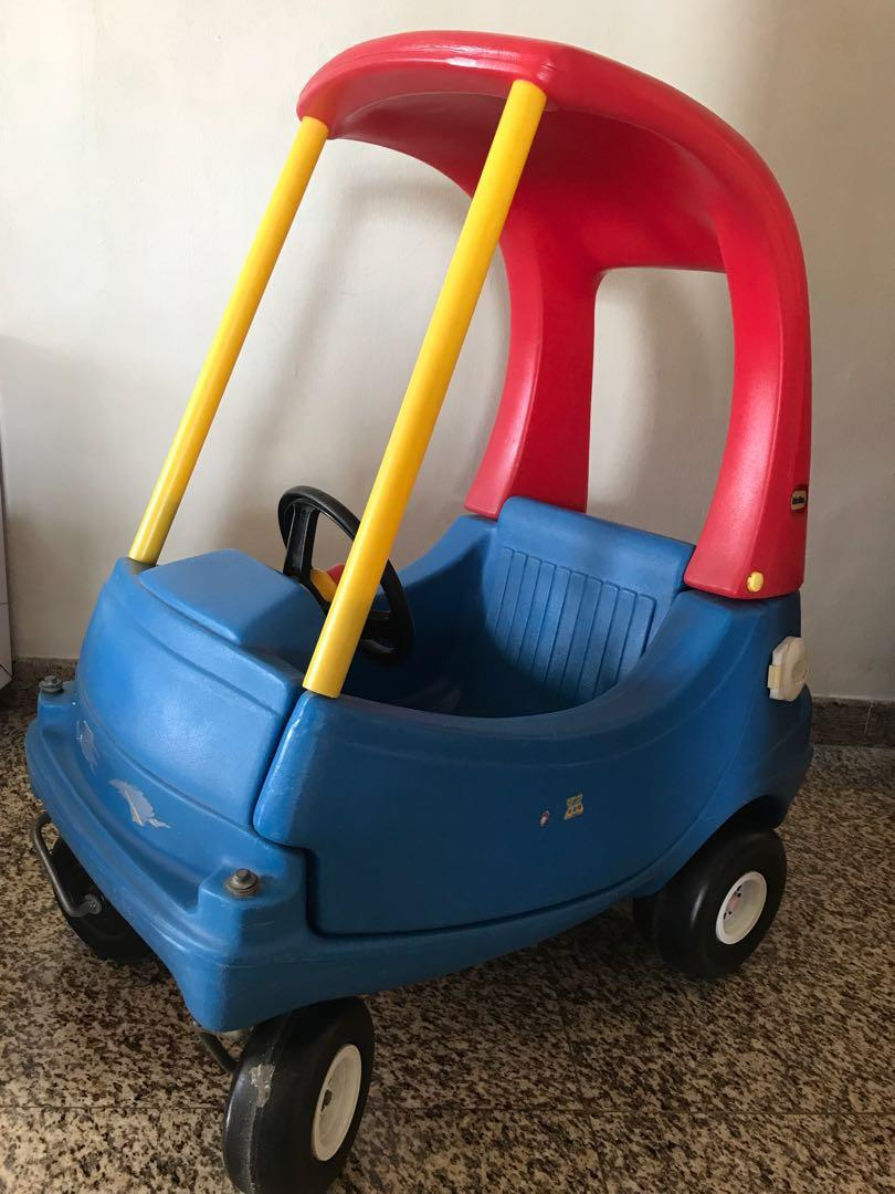 Preloved Little Tikes Cozy Coupe Babies Kids Toys Walkers On Carousell