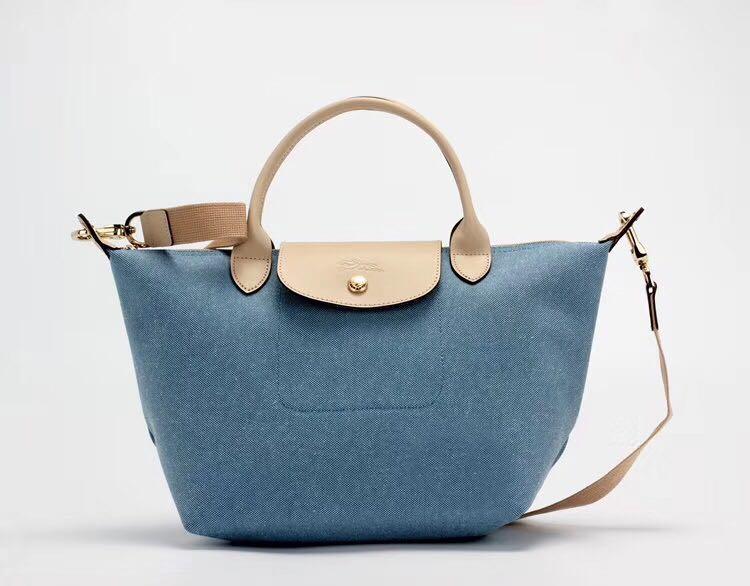 6fa5e54f5f1d Preorder longchamp 1515 1512 new deny blue sling bag