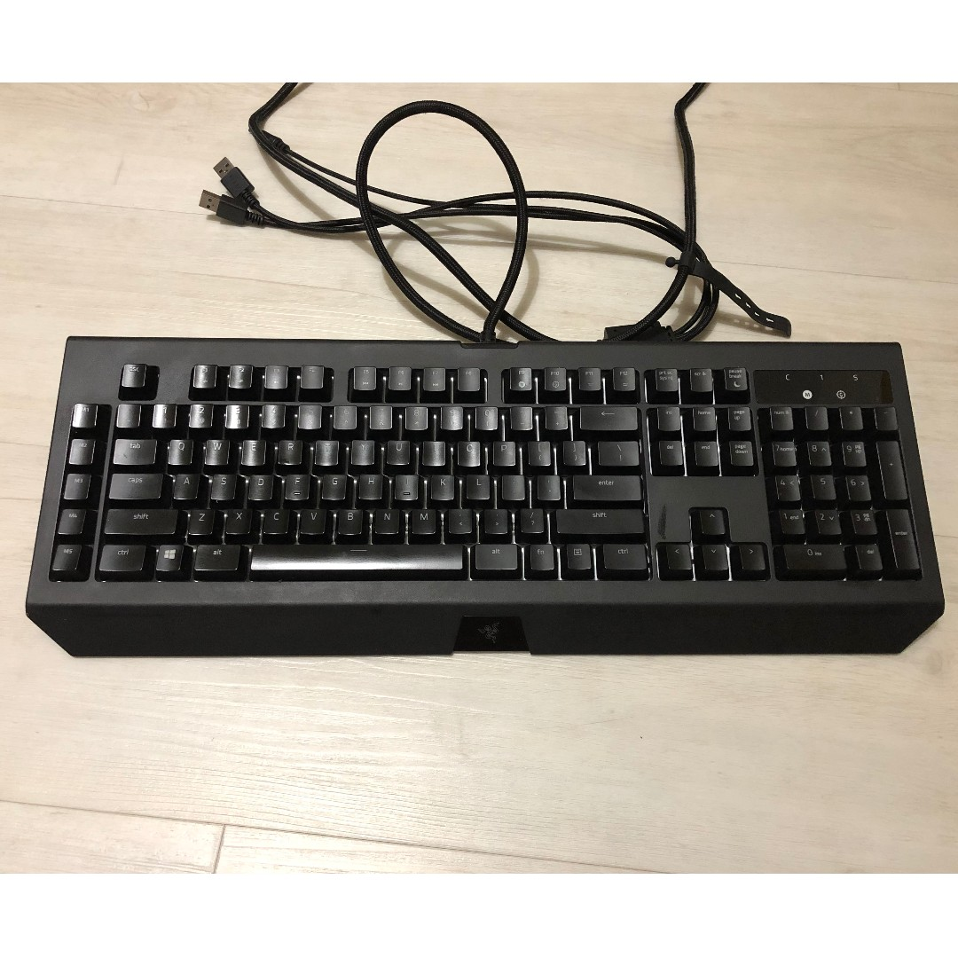 92bbce16f21 Razer Blackwidow Chroma V2 (Green Switch - Clicky), Electronics ...