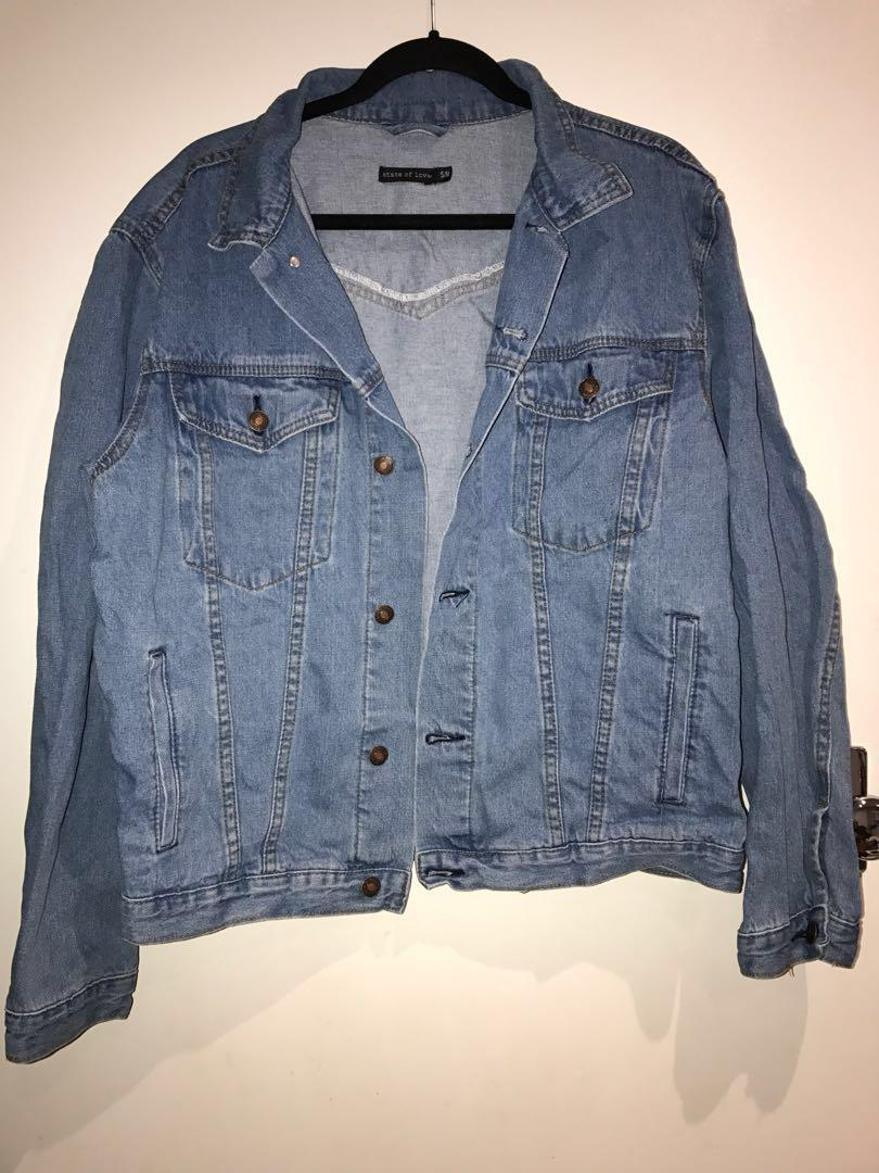 [REDUCED] PRINCESS POLLY WESTERN DENIM JACKET