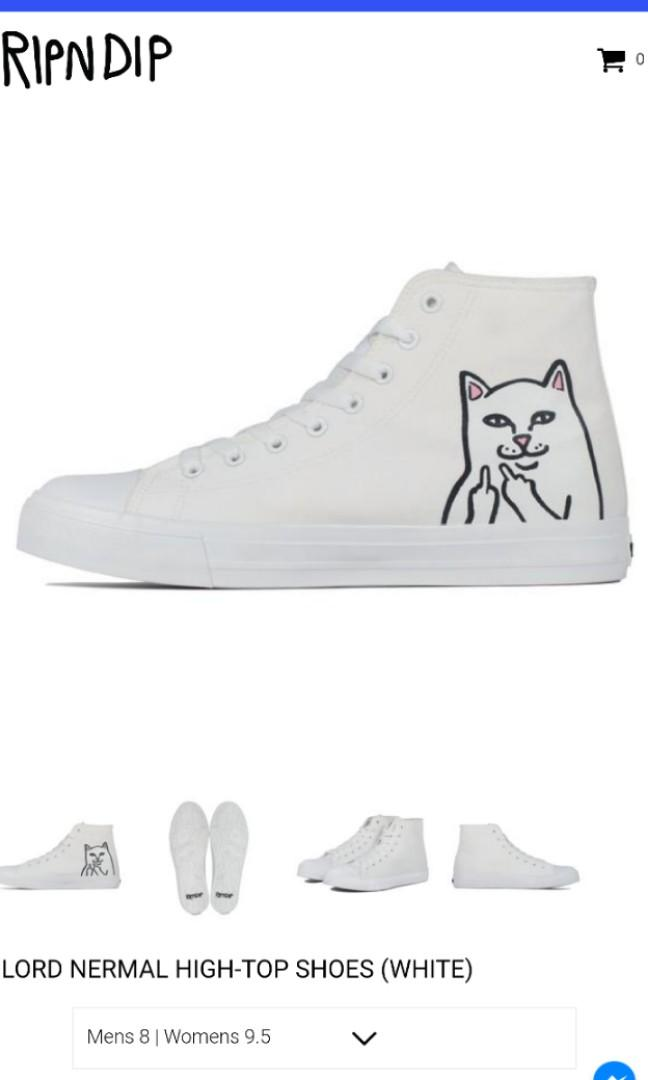 cd582ccea8f RIPNDIP Lord Nermal high top shoes, Men's Fashion, Footwear ...