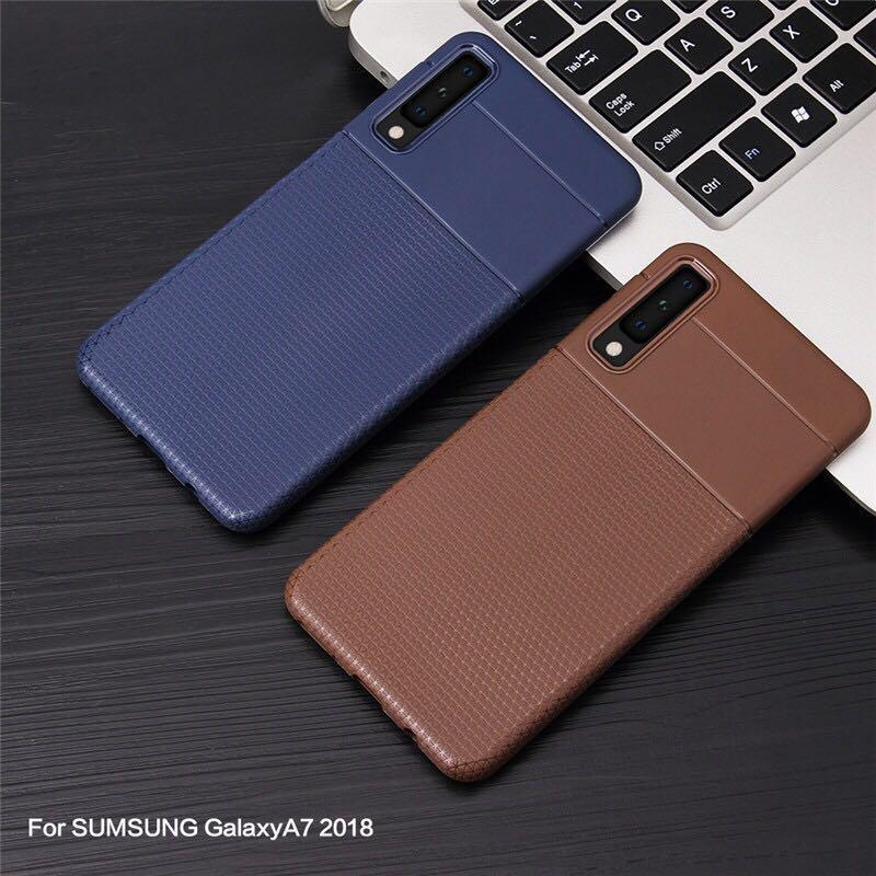 pretty nice c51a4 49e21 SAMSUNG A7 2018 (A750) Soft Case, Mobile Phones & Tablets, Mobile ...