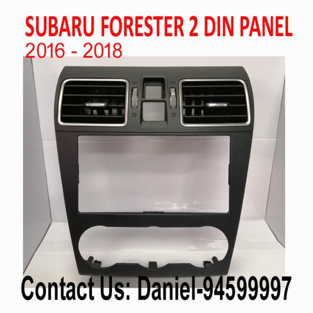 SUBARU FORESTER 2 DIN PANEL 2016 -2018