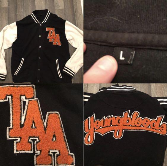 The Amity Affliction Youngbloods varsity jacket band merch