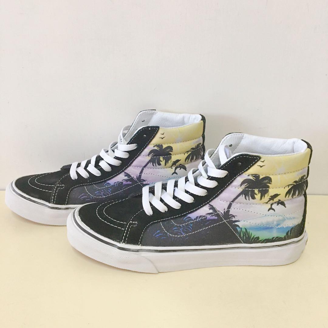 ee1075cc5f VANS Dolphin Beach SK8-Hi Slim Womens Shoes 中筒鞋