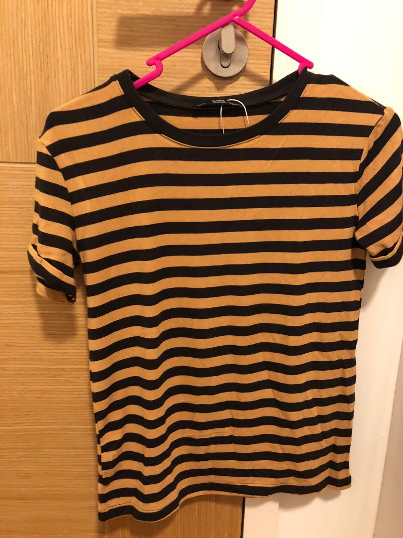 9b58122d Zara collection striped shirt on Carousell
