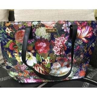 Bebe Spring Floral Tote Handbag-100% original- NEW