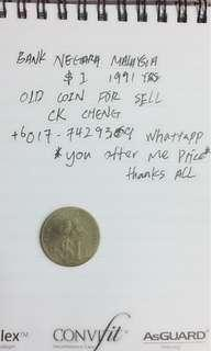 Collection Limited old coin 1991 yrs