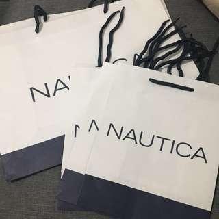Authentic Nautica Paper Bag