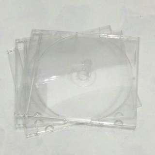 Preloved Transparent CD Cases