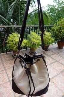 Beige Bucket Bag