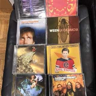 Assorted CD's for sale. Some new some slightly used