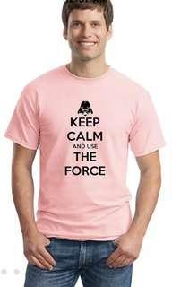 Star Wars pink t-shirt