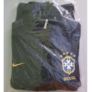 Nike Brazil Men's Full Zip Soccer Track Jacket