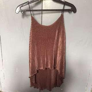 Pleated Cami StringTop