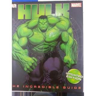 Hulk The Incredible Guide HC by DK