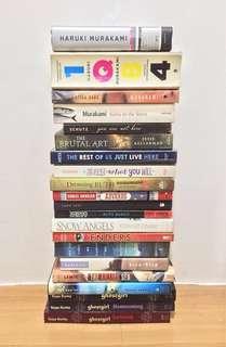 SALE! Books 📖 from Lang Leav, Haruki Murakami and more!