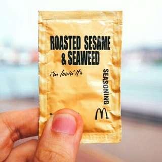 McDonald's Roasted Sesame & Seaweed Seasoning