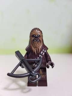 AUTHENTIC LEGO STARWARS chewbacca figurine