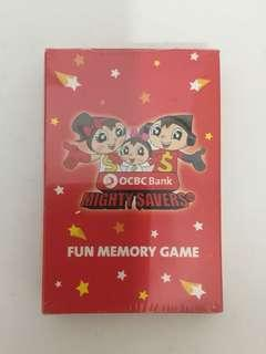 OCBC Fun Memory Game Card